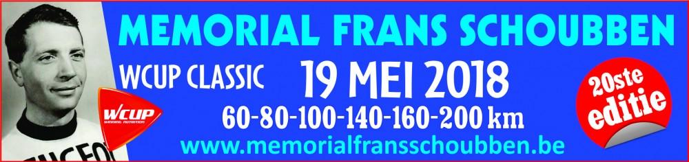 Memorail Frans Schoubben